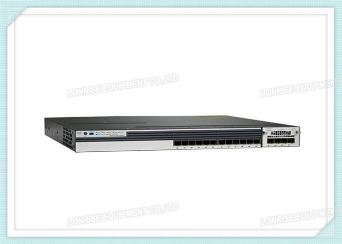 Cisco WS-C3750X-12S-S 12 Port GE SFP Ethernet Switch Layer 3