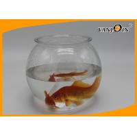 China Pet Products 2800ml/93OZ Plastic Fish Bowl Aquarium Tank Mini Elegant Table Accessories on sale