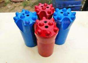 China Small Rock Drill Bits 40mm 8 Buttons Tungsten Carbide Taper Drill Rock Button Bits on sale