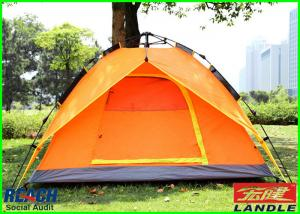China Canvas Refugee 4 Person 3 Seasons Outdoor Camping Tent For Events on sale