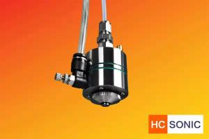 China 50Khz Vortexing  Ultrasonic Atomizer Nozzle for Complex Coating on sale