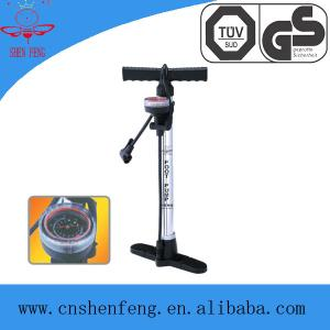 China High pressure hand air pump with guage SF8902G on sale