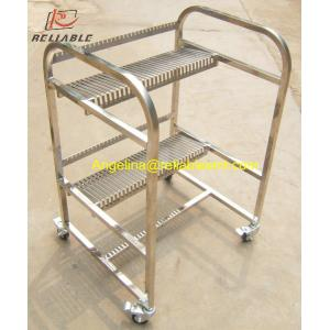 China High quality FUJI CP6/CP7 Feeder storage cart,2 layers, 40 pieces per layer,FUJI CP6 Feeder Racks on sale