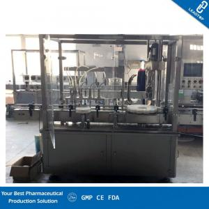 China Nozzle Liquid Filling Machine Real Time Adjustability Accurate Filling Volume on sale
