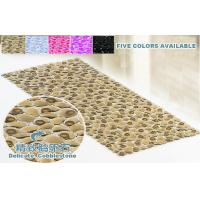 China Brown Big Bubble Massage Rubber Bath Mats Without Suction Cups For  Hotel On Sale .