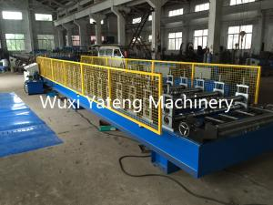 China 0.3 - 0.8mm Thickness Metal Roof Panel Machine , Sandwich Panel Roll Forming Machine 1250mm Width h on sale