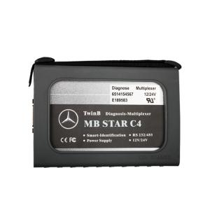 China Mercedes Benz Diagnostic Tool With MB STAR C4 SD Connect Truck Diagnostic Scanner on sale
