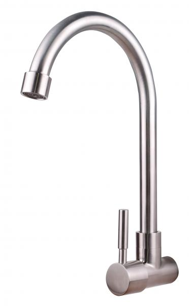 Single Hot Faucet And Long Neck Kitchen Faucet Hot Water Faucet For