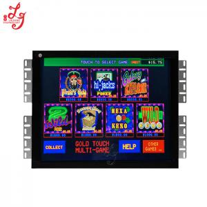 China 19 Inch Touch Screen  Gold Touch Slot Game Board Robust Bracket Shell on sale