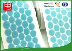 Good Sticky self adhesive hook and loop dots Female and Male side hook and loop patches
