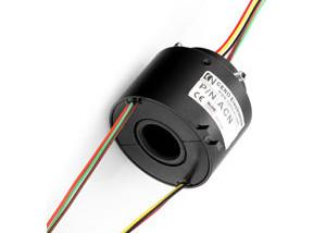 China Low Electrical Noise Hollow Shaft Slip Ring IP54 380VAC Voltage Various Sizes on sale