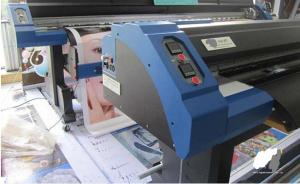 China Eco Solvent Printer 3.2M A-Starjet 7702L with 2 pcs DX7 Head for Flex Banner on sale