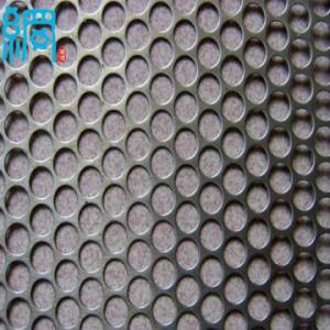 China Standard perforated metal mesh on sale