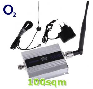China O2 GSM 900MHz Mobile Signal Booster for 100sqm on sale