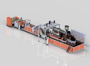China :atest version New condition High stable output GWS90,GWS120 PCL Medical sheet Extrusion Line wholesale