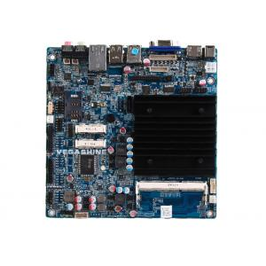 China Dual Gigabit LAN fanless industrial Motherboard with COM , USB3.0 , Mini-Itx Mainboard supplier