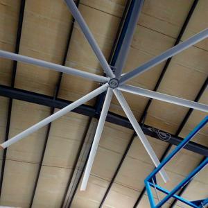 China Electric Workshop Metal Blade Ceiling Fan , 22 FT Industrial Shop Ceiling Fans on sale
