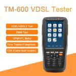 China TM-600 VDSL Tester Fiber Optic Tools ADSL/VDSL/OPM/ VFL/TDR Tone Tracker all-in-one unit wholesale