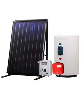 China split pressurized solar water boiler /solar heater on sale