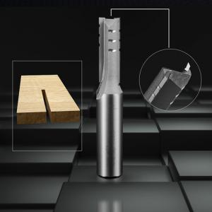 China Wood Cutting TCT Router Bits 1 / 4 & 1 / 2 Inch Shank Bottom Double Flutes on sale