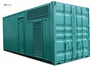 China Turbocharged 1350kW Silent Diesel Generator (Genset), CE / SASO And SGS Certified on sale
