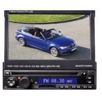 China ONE DIN HD 7 inch CAR DVD MEDIA PLAYER on sale