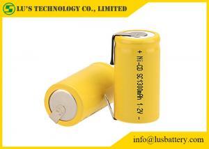 China Sc1300mah 1.2 V Battery Nickel Cadmium Battery For Emergency Backup Lightings on sale