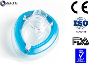 China Antiviral Disposable Medical Mask , Medical Face Shields  Oxygen Breathing Anesthesia on sale