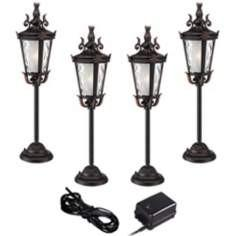 China Residential / manor house E27 Fluorescent Led Landscape Lights outside 120 volt on sale