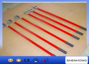 China High Voltage Overhead Line Construction Tools Electric Telescopic Hot Stick on sale