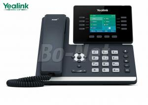China 2.8 Inch Color Screen Cisco Ip Telephone System SIP-T52S Yealink T5 Series PoE Support on sale