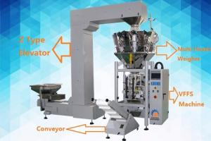China High Speed Snack Food Automated Packaging Machine Easy To Operate on sale