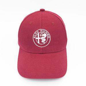 6a6753a852291 ... Quality 6 Panels Structured Embroidery Burgundy Baseball Caps for sale  ...