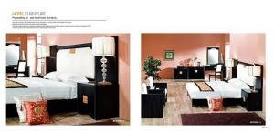 China Ergonomic Hotel Bedroom Furniture Sets / Luxury Hotel Furniture Fashion Style on sale