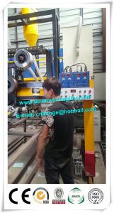 China Semi Trailer Industry Automated Welding Machines , H Beam Welding Line on sale
