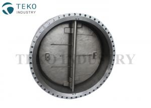 China Double Flanged Wafer Check Valve For WOG , API 594 Standard Double Plate Check Valve on sale