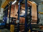 Rubber Conveyor Belt Dipped NN Fabrics , Industrial Fabric Material High Adhesion