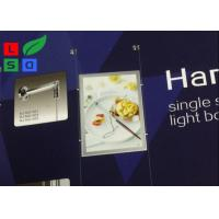 Magnetic LED Backlit Light Box A3 A4 Graphic Size With Cable Hanging CE Approved