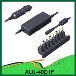 2012 adaptador onipotente quente ALU-40D1F do poder do carro da C.C. do portátil da venda 40W