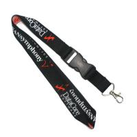 China 900 X 25MM Woven Lanyards Cell Phone Neck Strap Environmental Protection on sale