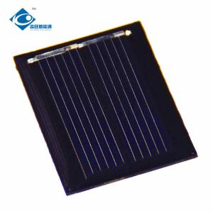 China 0.5V cheap poly silicon solar cell price ZW-3025 mini high efficiency solar panel on sale