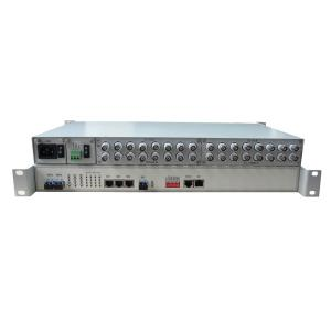 China 16E1+1000M Ethernet PDH Optical Multiplexer on sale