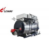 China Wet Back Design High Efficiency Gas Steam Boiler Feedwater Temp 20℃ For Laundry on sale