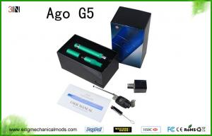 China 650mah AGO G5 Vape Pen Dry Herb Vaporizers Wax Atomizer 1.6ml on sale