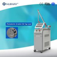 China China top 10 supplier's Nd yag laser tattoo removal machine pigment removal skin spot removal on sale