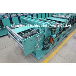 China IBR Roofing Sheet Roll Forming Machine Sheet Metal Rollforming Systems 4kw 3ph on sale