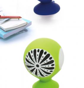 China Silicon Mushroom Portable Mini Speaker With USB Charger on sale