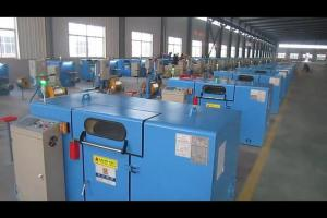 China Automatic Normal Copper Wire Twist Machine With Single Diameter 0.08 To 0.45 on sale
