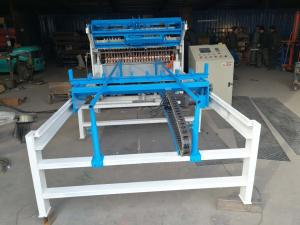 China Wire Diameter 2.5--6.0 mm Fence Wire Mesh Roll Welding Machine 50 x 200mm on sale