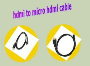 China HDMI to MICRO HDMI Cable on sale
